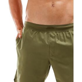 2XU XCTRL Woven Shorts 7'' Homme, moss/moss